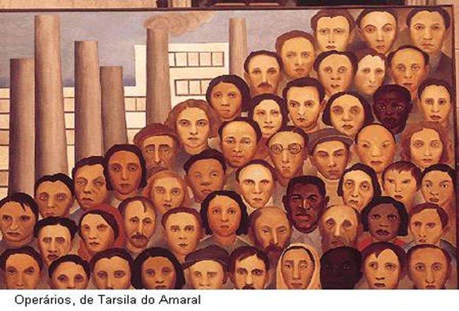"""Foto """"Operários (1933)"""""""